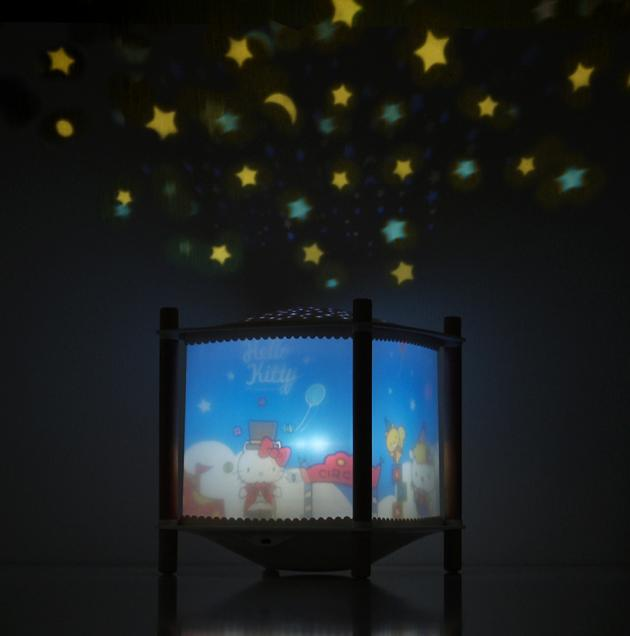 Hello Kitty馬戲團魔法星星投射走馬燈 3