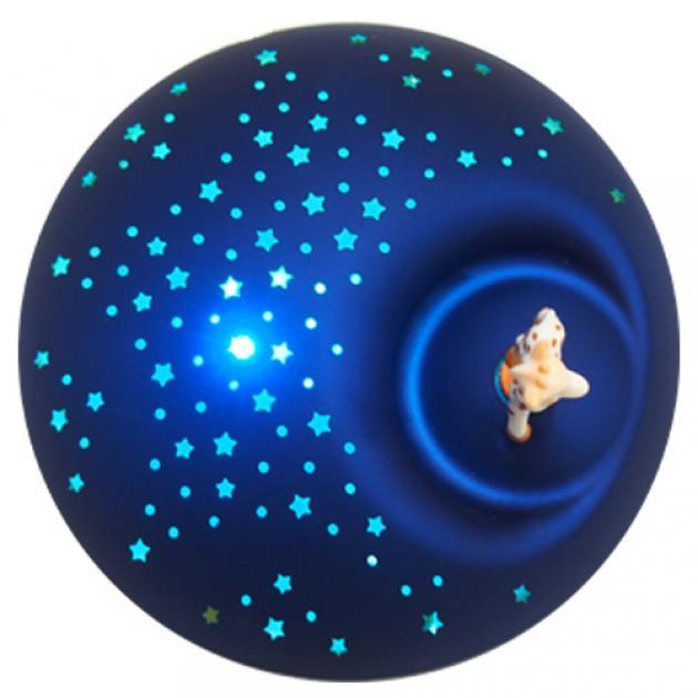 旋轉吧!蘇菲長頸鹿轉動音樂星星投射夜燈 4