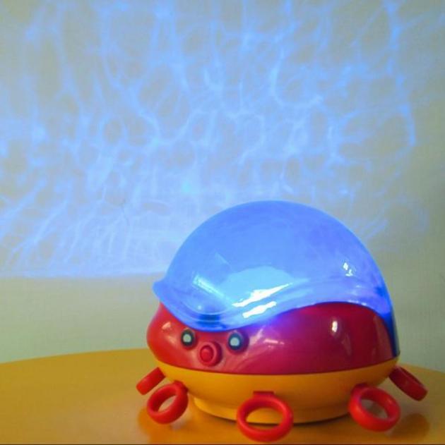 動感章魚海洋風投射夜燈 2