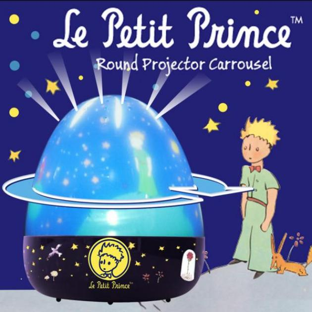 Le Petit Prince 小王子旋轉音樂點點夜燈 1
