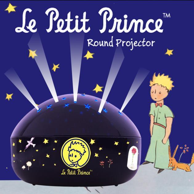 Le Petit Prince 小王子LED星星投射夜燈 1