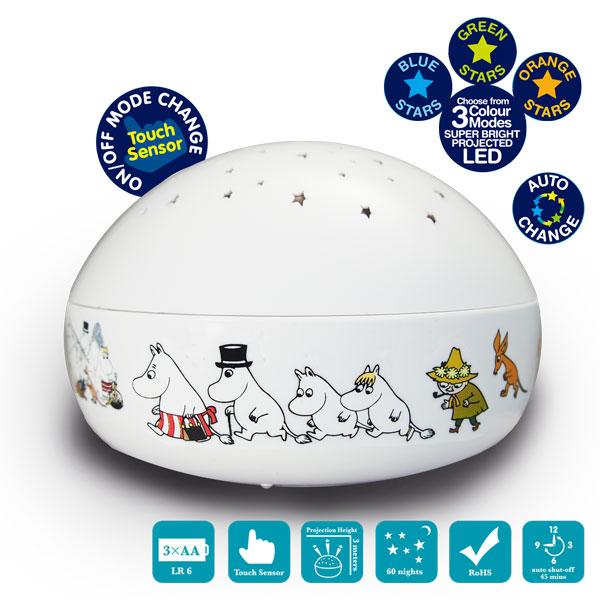 Moomin嚕嚕米星星投射夜燈 1