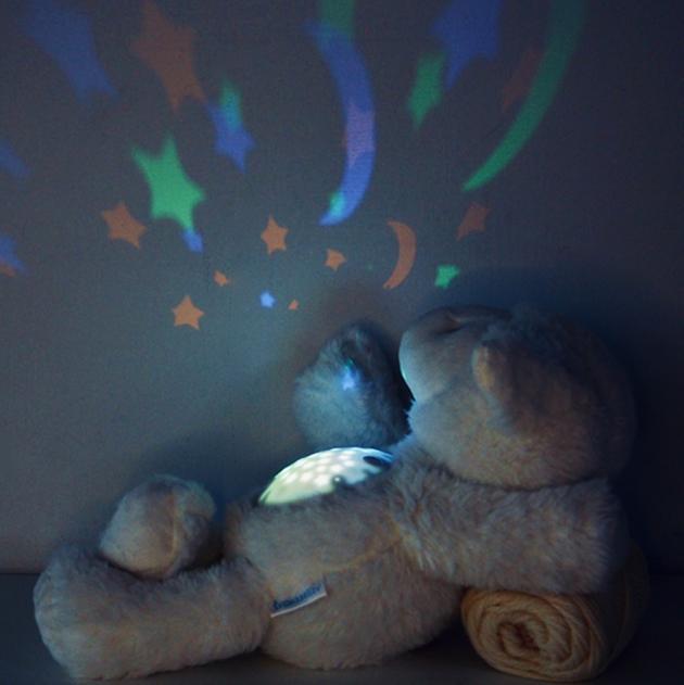 音樂小綿羊娃娃星星投射夜燈 3