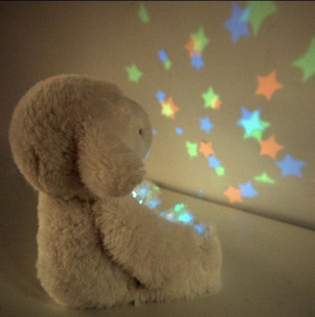 音樂小綿羊娃娃星星投射夜燈 5