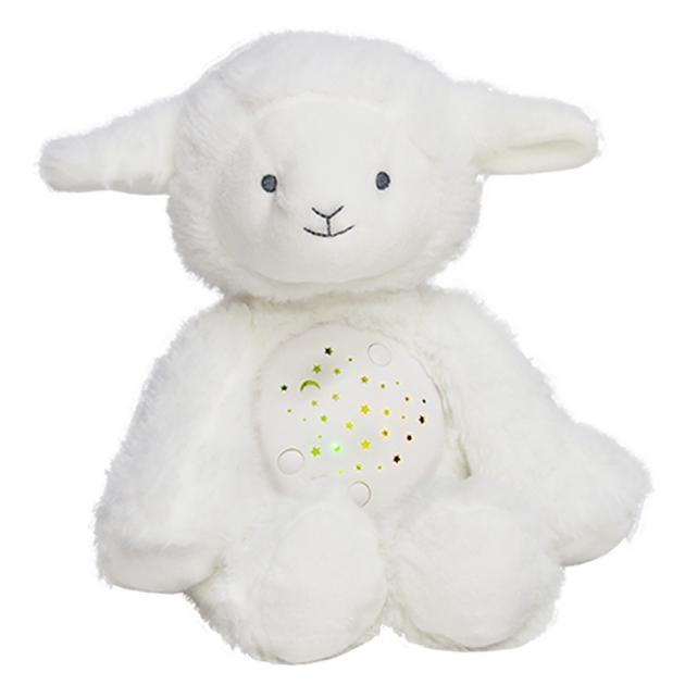 音樂小綿羊娃娃星星投射夜燈 2